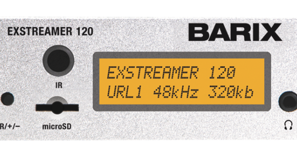 Barix ExStreamer Equipos decodificación audio IP